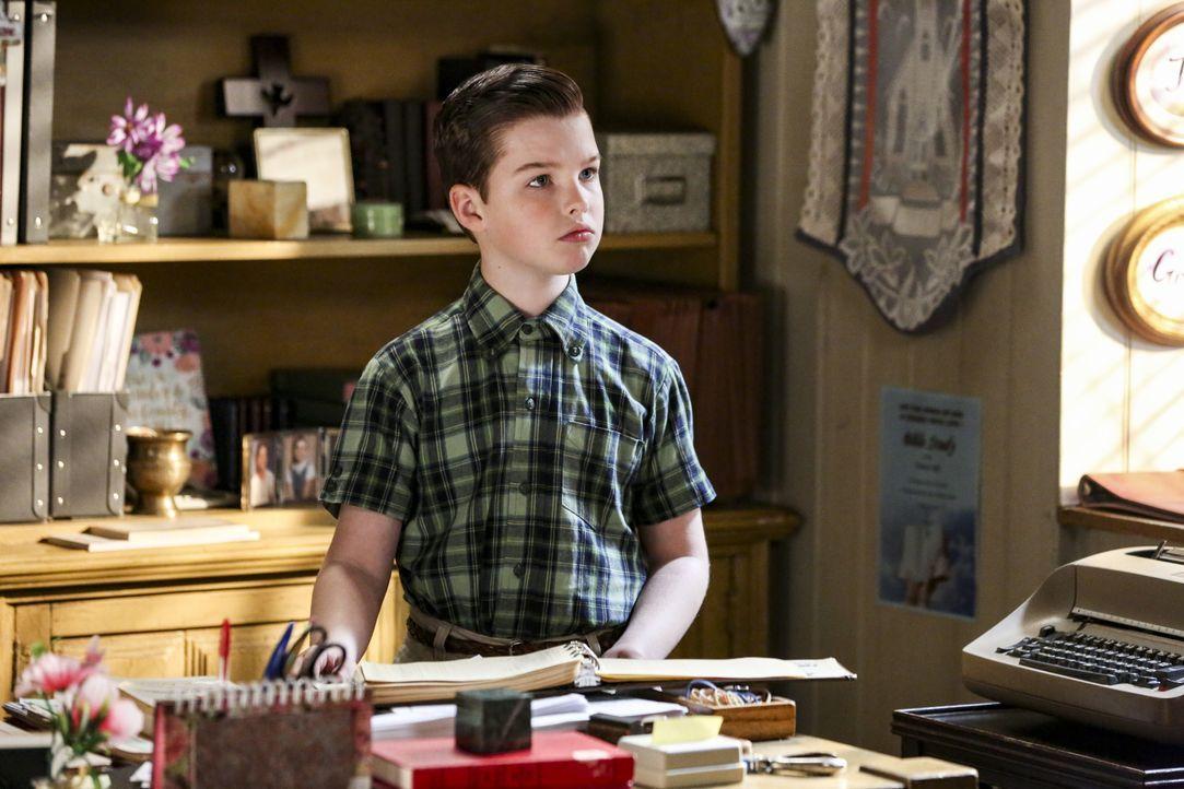 Sheldon Cooper (Iain Armitage) - Bildquelle: Michael Yarish 2019 CBS Broadcasting / Michael Yarish
