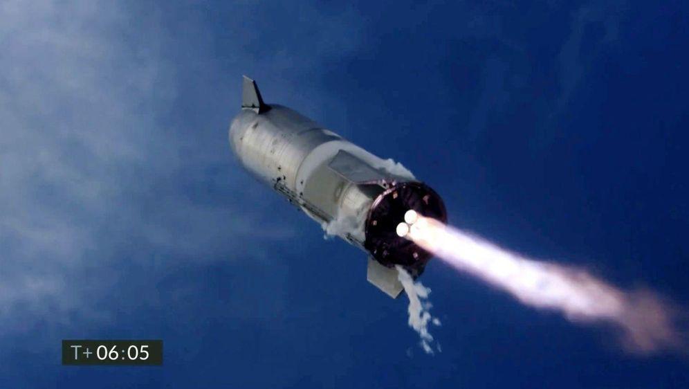 - Bildquelle: Uncredited/SpaceX/AP/dpa