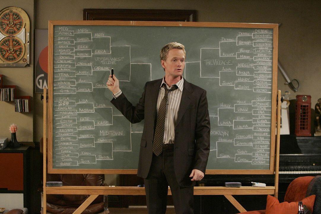 Barney (Neil Patrick Harris) scheint eine Pechsträhne zu haben - schon seit Tagen hat er keine Frau mehr aufgerissen. Als er mit Lily in der Bar si... - Bildquelle: 20th Century Fox International Television