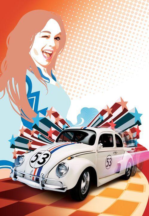 Maggie (Lindsay Lohan) findet sehr schnell heraus, dass Herbie nicht nur etwas ganz Besonderes ist, sondern auch über ungeahnte, magische Fähigkei... - Bildquelle: Walt Disney Pictures