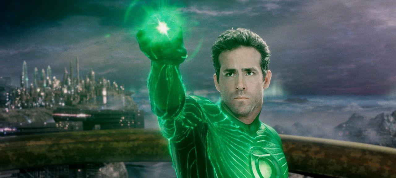 Ist der sonst so tollkühne Hal Jordan (Ryan Reynolds) der Aufgabe als Wächter des Universums gewachsen? - Bildquelle: Warner Bros.