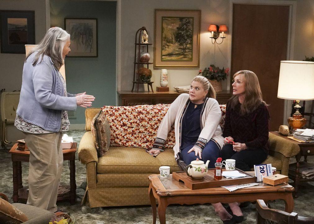 (v.l.n.r.) Claire (Lois Smith); Tammy (Kristen Johnston); Bonnie (Allison Janney) - Bildquelle: Monty Brinton 2018 WBEI. All rights reserved.