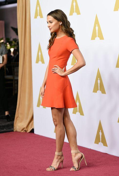 Oscar-Nominees-Luncheon-Alicia-Vikander1-160208-AFP - Bildquelle: AFP