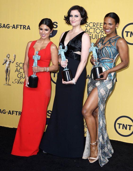 SAG-Awards-Diane-Guerrero-Julie-Lake-Samira-Wiley-15-01-25-dpa - Bildquelle: dpa