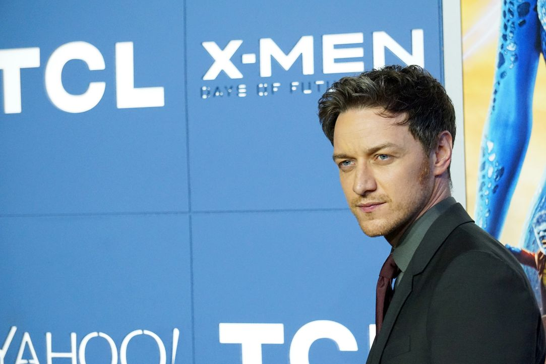 X-Men-Days-of-Future-Past-Premiere-New-York-James-McAvoy-140510-getty-AFP - Bildquelle: getty-AFP