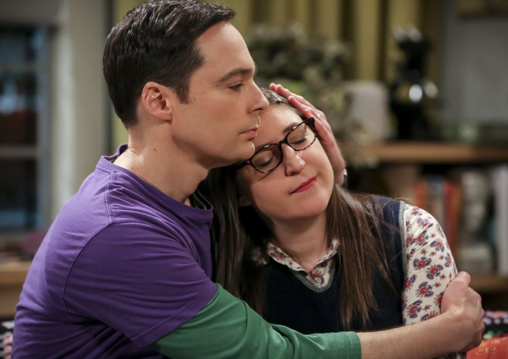 Sheldon Cooper (Jim Parsons, l.); Amy Farrah Fowler (Mayim Bialik, r.) - Bildquelle: Michael Yarish 2019 WBEI. All rights reserved. / Michael Yarish