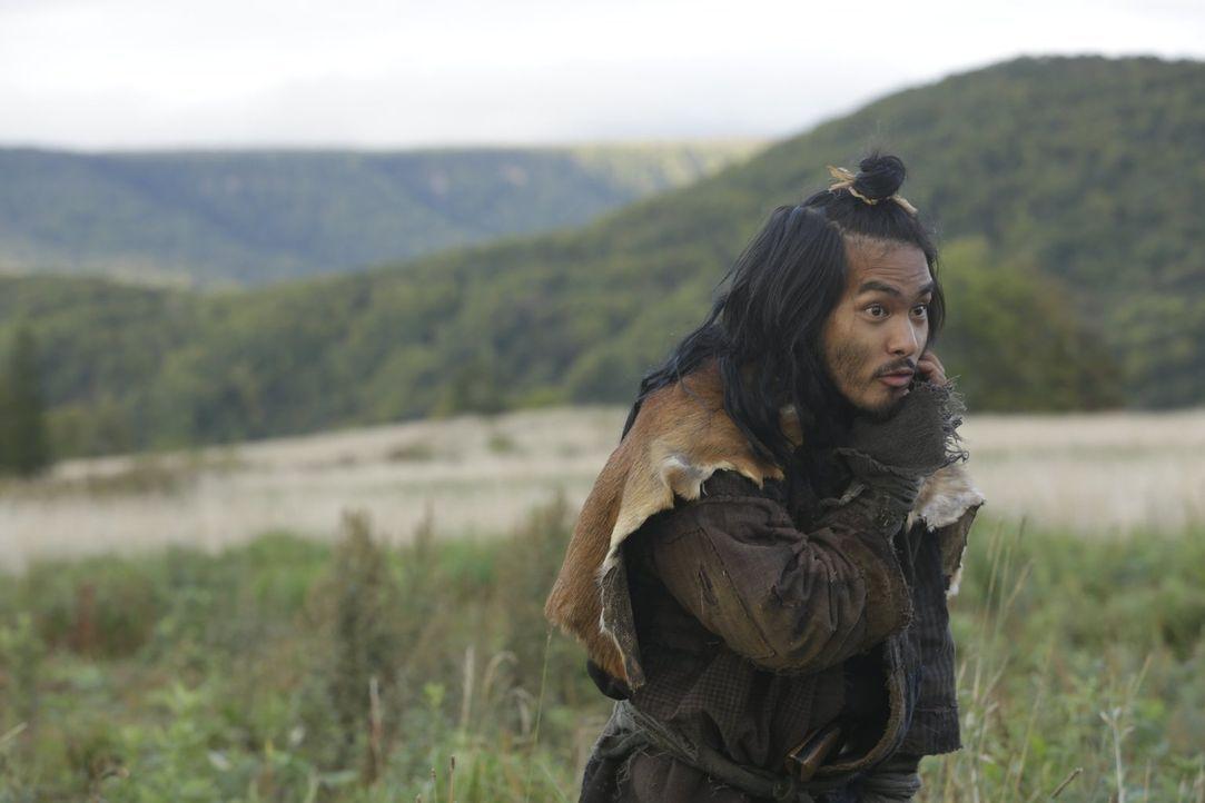 Der junge Goro Sawada (Yûya Yagira) schließt sich den beiden älteren Kriegern Kingo und Jubee an, ohne zu ahnen, auf welche lebende Legende er getro... - Bildquelle: Warner Bros.