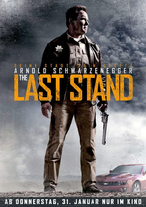 the-last-stand-plakat-20th-century-foxjpg 989 x 1400 - Bildquelle: 2013 Twentieth Century Fox