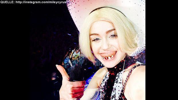 Miley-Cyrus-Instagram - Bildquelle: http://instagram.com/mileycyrus