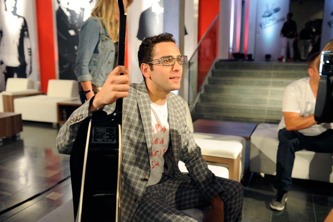 james-the-voice-of-germany-staffel2-epi01-29-backstagejpg 2000 x 1331 - Bildquelle: ProSieben/SAT.1/Christoph Assmann