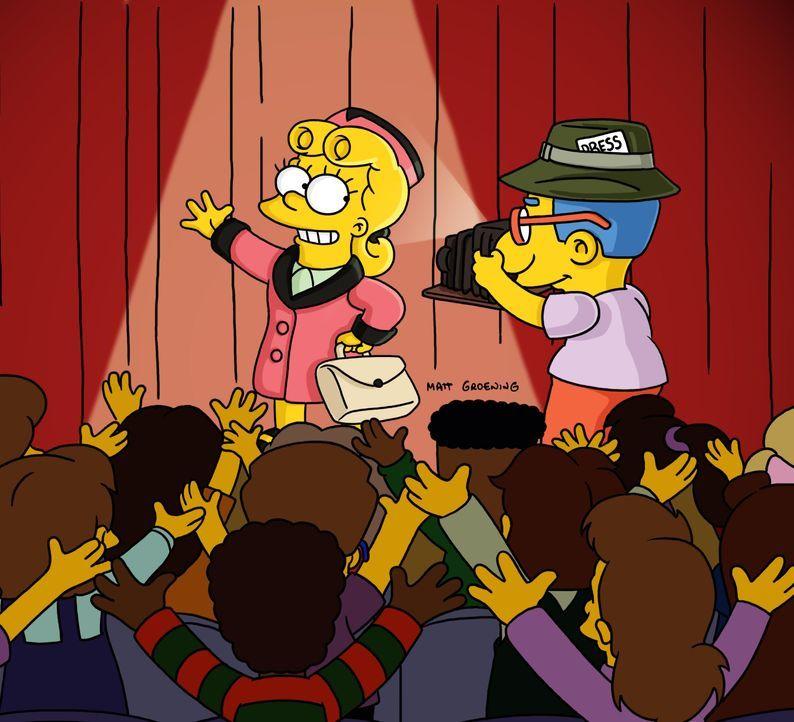 Lisa (l.); Milhouse (r.) - Bildquelle: 2003 FOX BROADCASTING