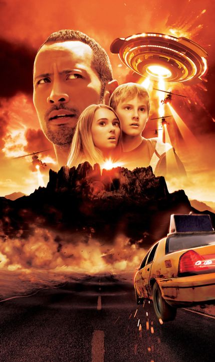 Die Jagd zum magischen Berg - Artwork mit (v.l.n.r.) Dwayne Johnson, AnnaSophia Robb, Alexander Ludwig - Bildquelle: Disney Enterprises, Inc.  All Rights Reserved