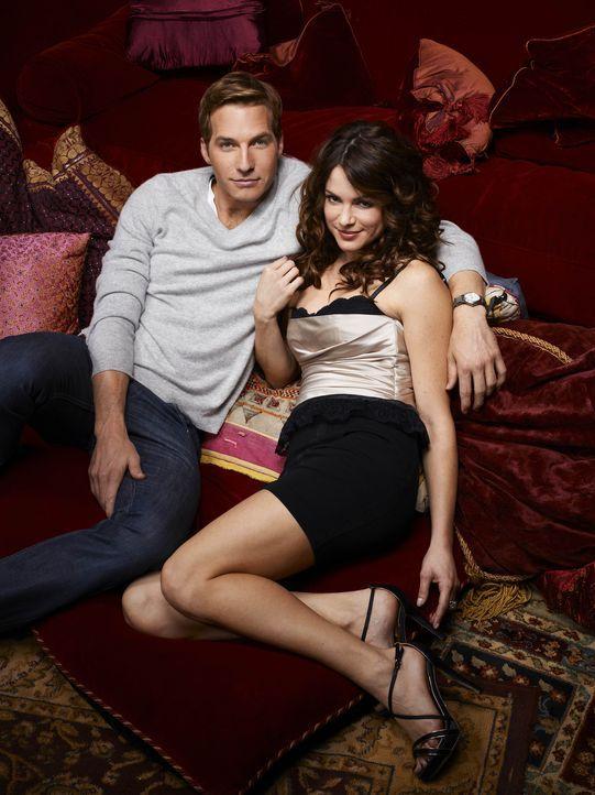 (1. Staffel) - Ben (Ryan Hansen, l.) und Sara (Danneel Ackles, r.), zwei gute Freunde, zwei sehr gute Freunde. Auf der Suche nach der oder dem Richt... - Bildquelle: Mitchell Haaseth NBC Universal, Inc.