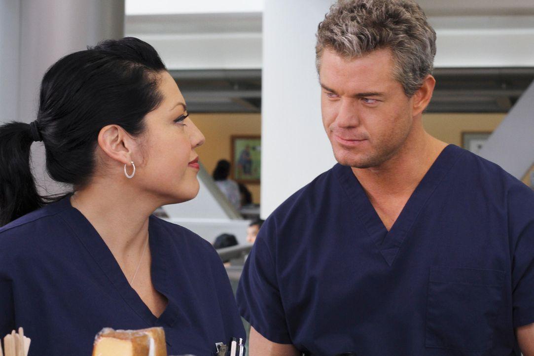 Grey's Anatomy – Mark und Lexie – 06: Callie (Sara Ramirez), Mark (Eric Dane) - Bildquelle: ABC Studios