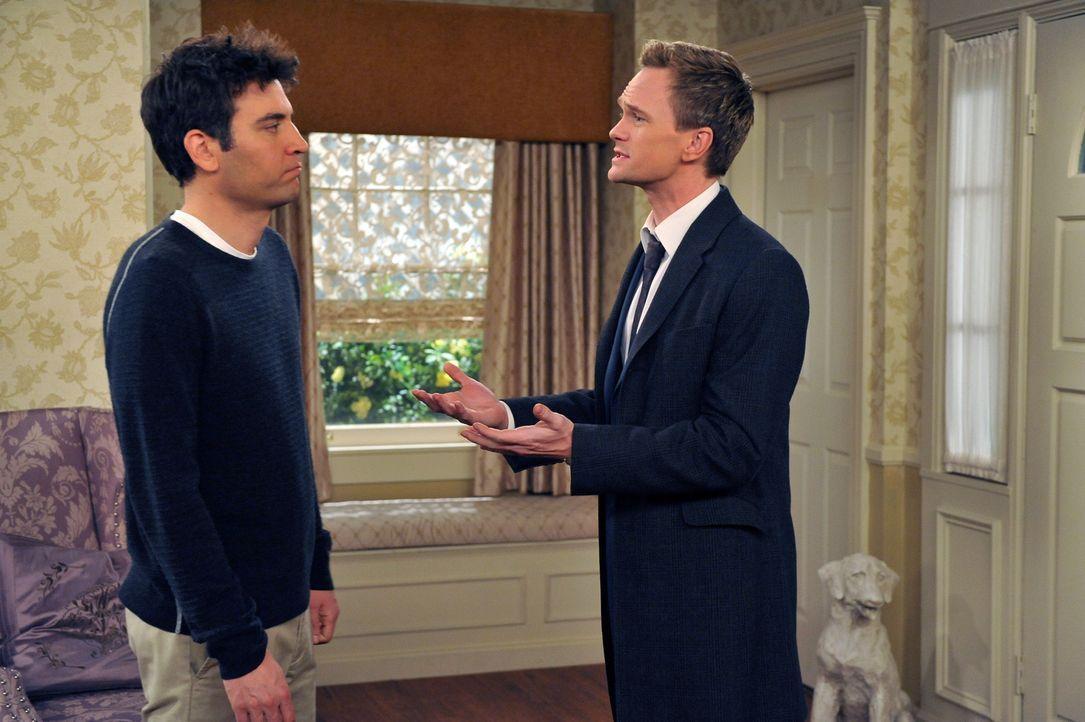 Haben einen verrückten Plan: Barney (Neil Patrick Harris, r.) und Ted (Josh Radnor, l.) ... - Bildquelle: 20th Century Fox International Television