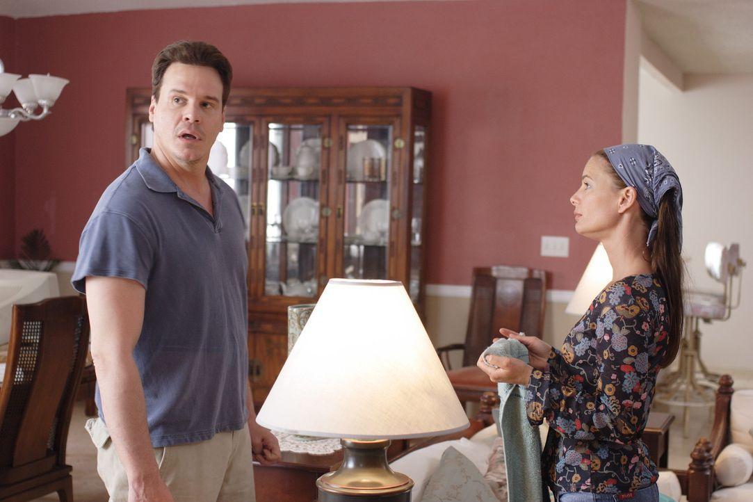 Als die Jurastudentin Kristen (Gabrielle Anwar, r.) beschließt, sich von ihrem Mann (Craig Sheffer, l.) zu trennen, entwickelt dieser einen infamen... - Bildquelle: Christopher Filmcapital
