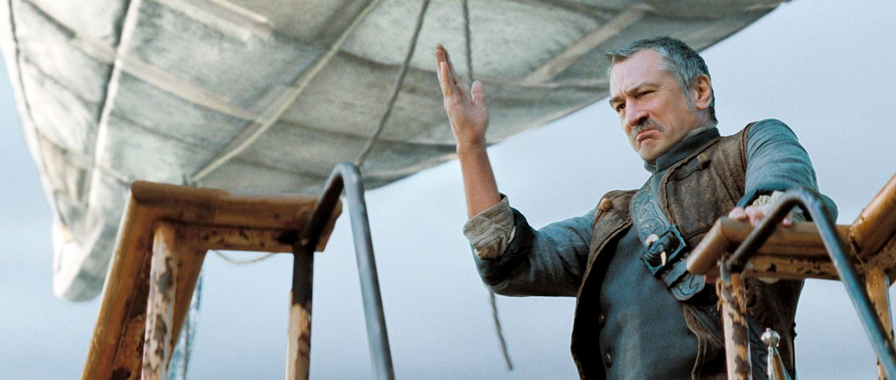 Er ist eigentlich ein gutherziger Mensch: Captain Shakespeare (Robert De Niro) erklärt sich deshalb bereit, Tristan und Yvaine zurück nach Wall zu b... - Bildquelle: 2006 Paramount Pictures. All Rights Reserved.