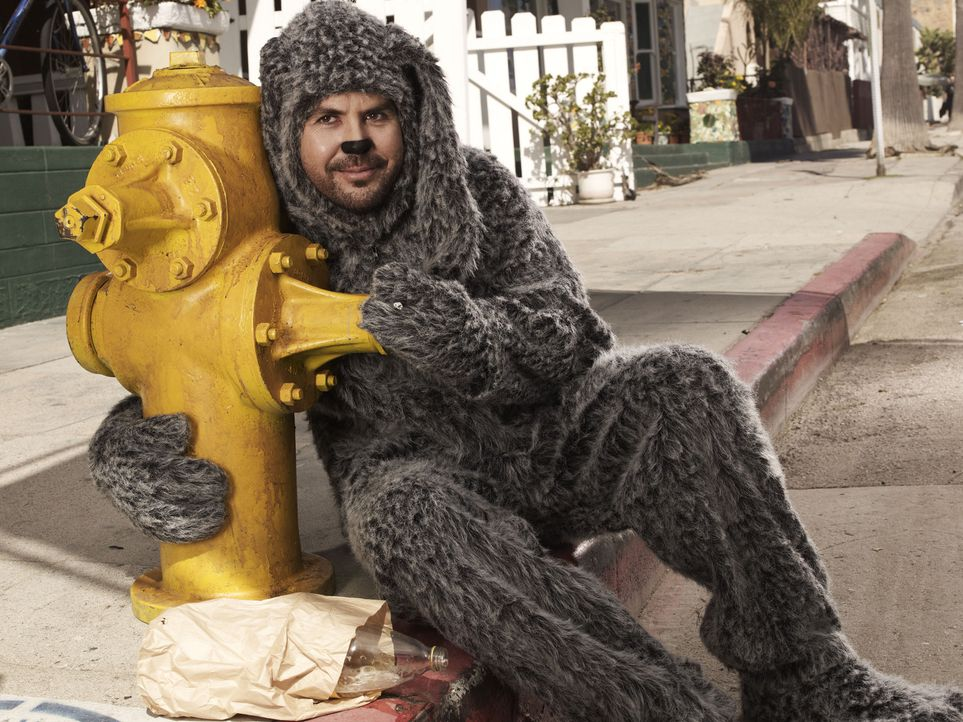 (1. Staffel) - Werden schnell beste Freunde: Ryan und Hund Wilfred (Jason Gann) ... - Bildquelle: 2011 FX Networks, LLC. All rights reserved.