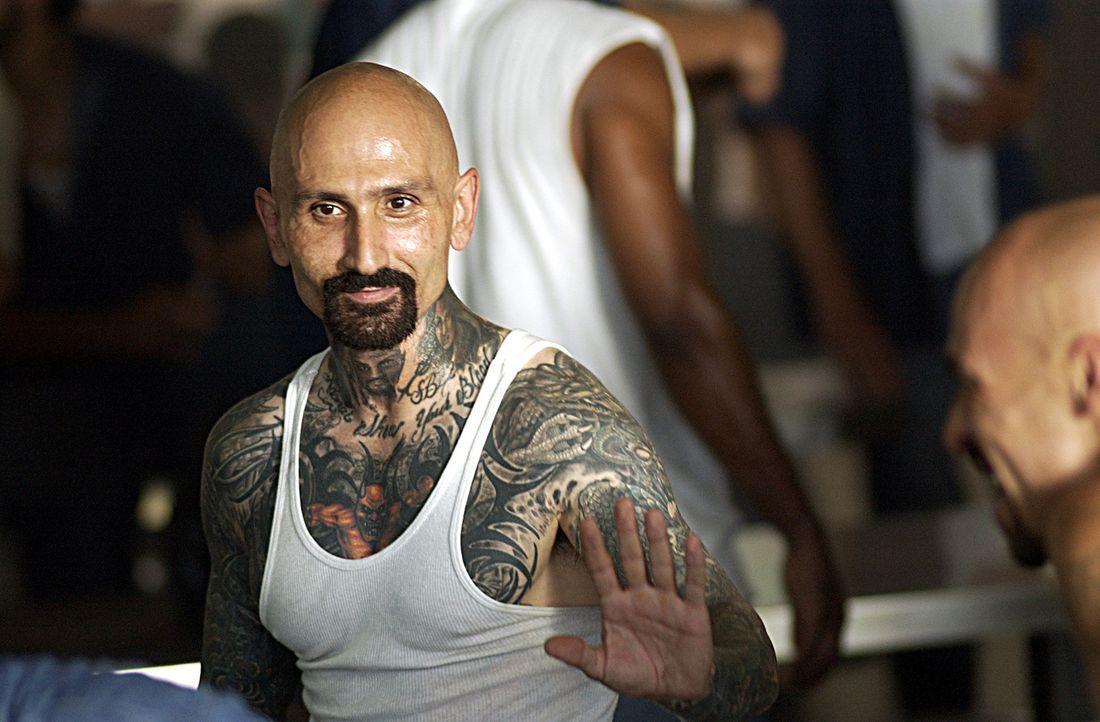 Rivera (Robert LaSardo) plant mit seinen Gangkollegen einen Aufstand im Gefängnis. Doch dann läuft nichts mehr nach Plan und die Gang verliert den... - Bildquelle: 2007 Sony Pictures Home Entertainment Inc. All Rights Reserved.