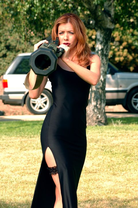 Wird nicht gerade vom Glück verfolgt: Julia (Alyson Hannigan) ... - Bildquelle: Epsilon Motion Pictures
