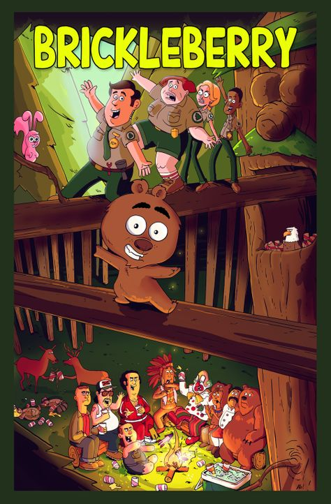 (3. Staffel) - Im Brickleberry Nationalpark ist immer was los ... - Bildquelle: 2014 Twentieth Century Fox Film Corporation and Comedy Partners. All rights reserved.