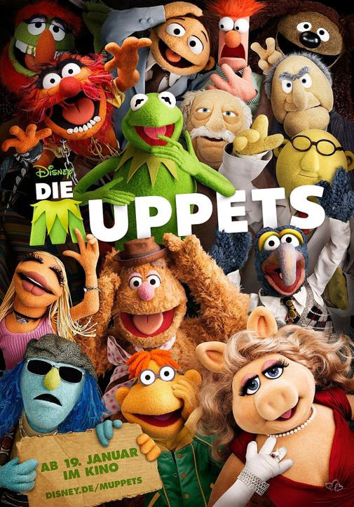 muppets-01-disney-enterprises-incjpg 1260 x 1800 - Bildquelle: Disney Enterprises Inc.
