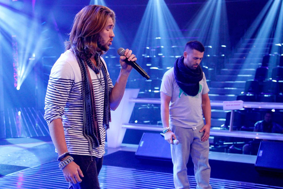 battle-gil-vs-christiano-06-the-voice-of-germany-richard-huebnerjpg 1700 x 1133 - Bildquelle: SAT.1/ProSieben/Richard Hübner