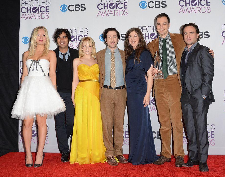 peoples-choice-award-cast-bigbangtheory-130109-05-getty-afpjpg 1700 x 1334 - Bildquelle: getty-AFP