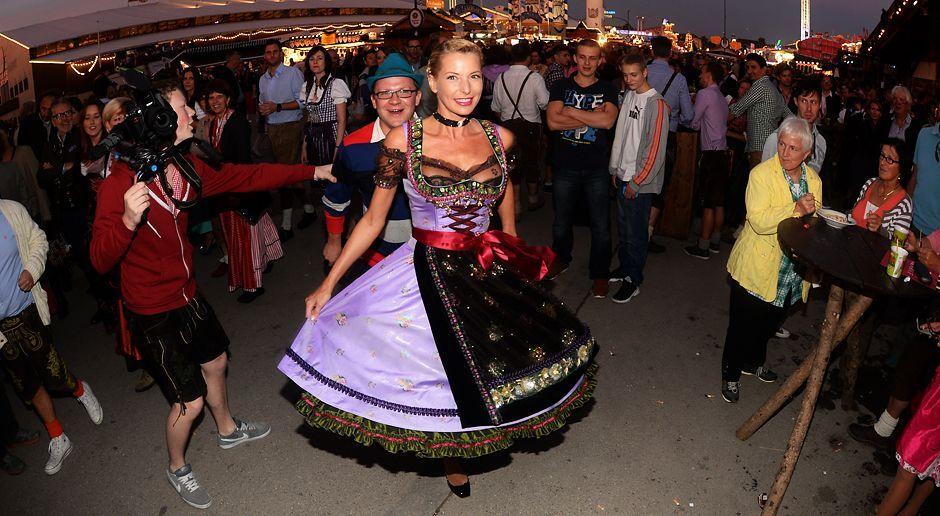 Oktoberfest-Giulia-Siegel-13-09-22-dpa - Bildquelle: dpa picture alliance