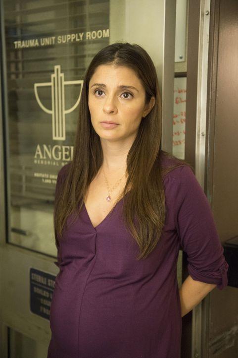 Die schwangere Carla (Shiri Appleby) benötigt dringend einen Konchenmarkspender ... - Bildquelle: Neil Jacobs 2015 American Broadcasting Companies, Inc. All rights reserved.