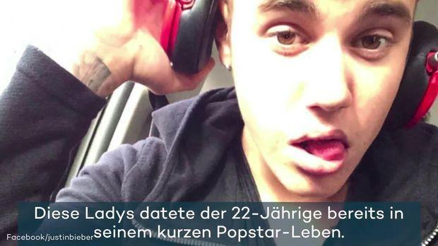 Justin bieber Dating-Liste