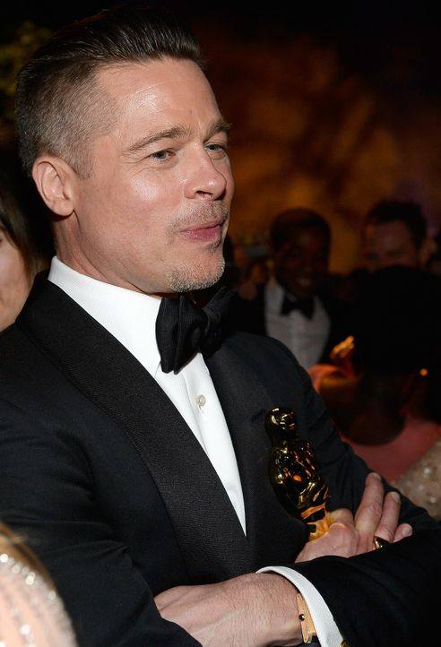 Oscars-Governors-Ball-Brad-Pitt-140302-getty-AFP - Bildquelle: getty-AFP