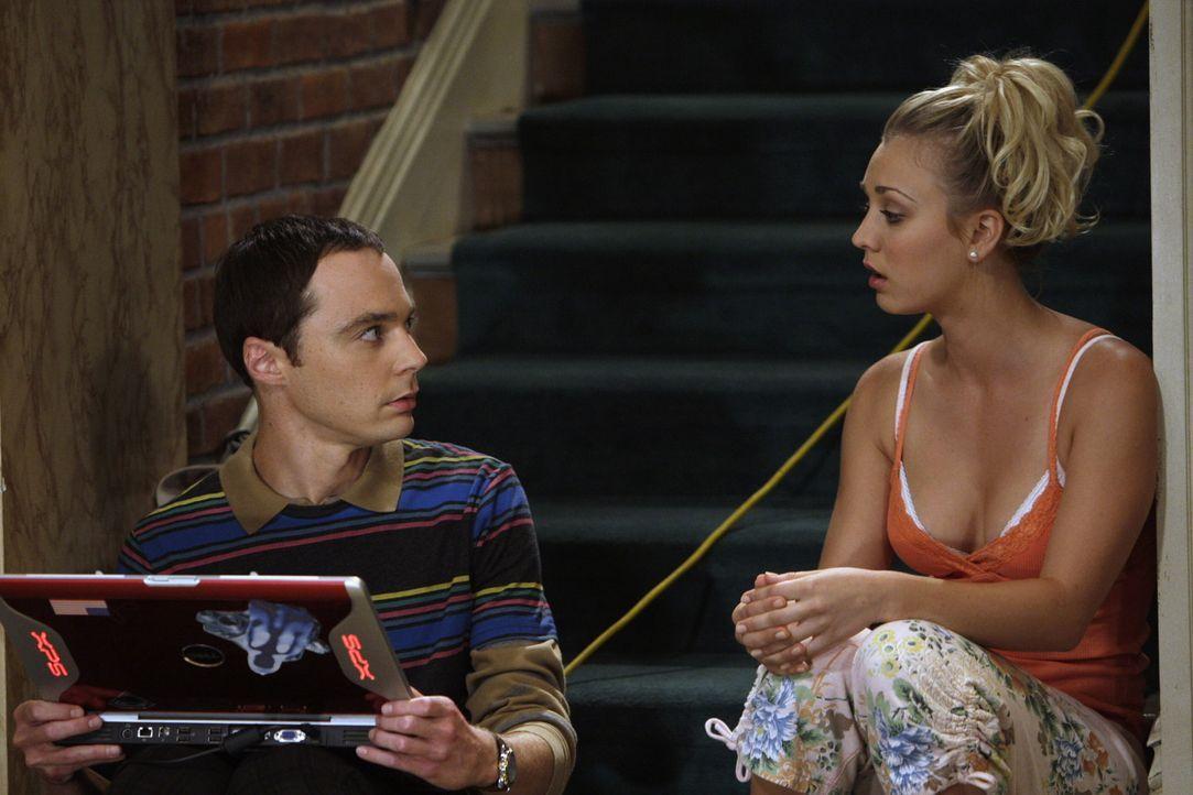 Als Penny (Kaley Cuoco, r.) Leonard, Sheldon, Howard und Raj ihren neuen Freund Eric vorstellt, beschließt Leonard, sich auf eine Beziehung mit sei... - Bildquelle: Warner Bros. Television