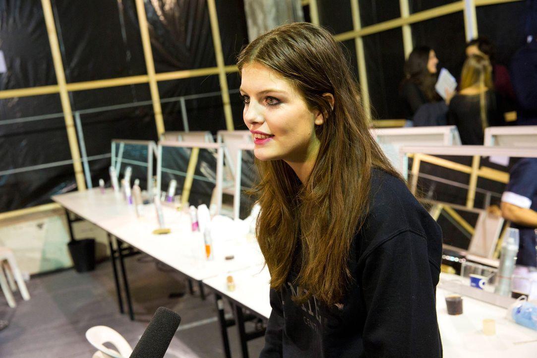GNTM-Stf10-Epi14-Fashion-Week-Paris-012-Vanessa-ProSieben-Richard-Huebner - Bildquelle: ProSieben/Richard Huebner