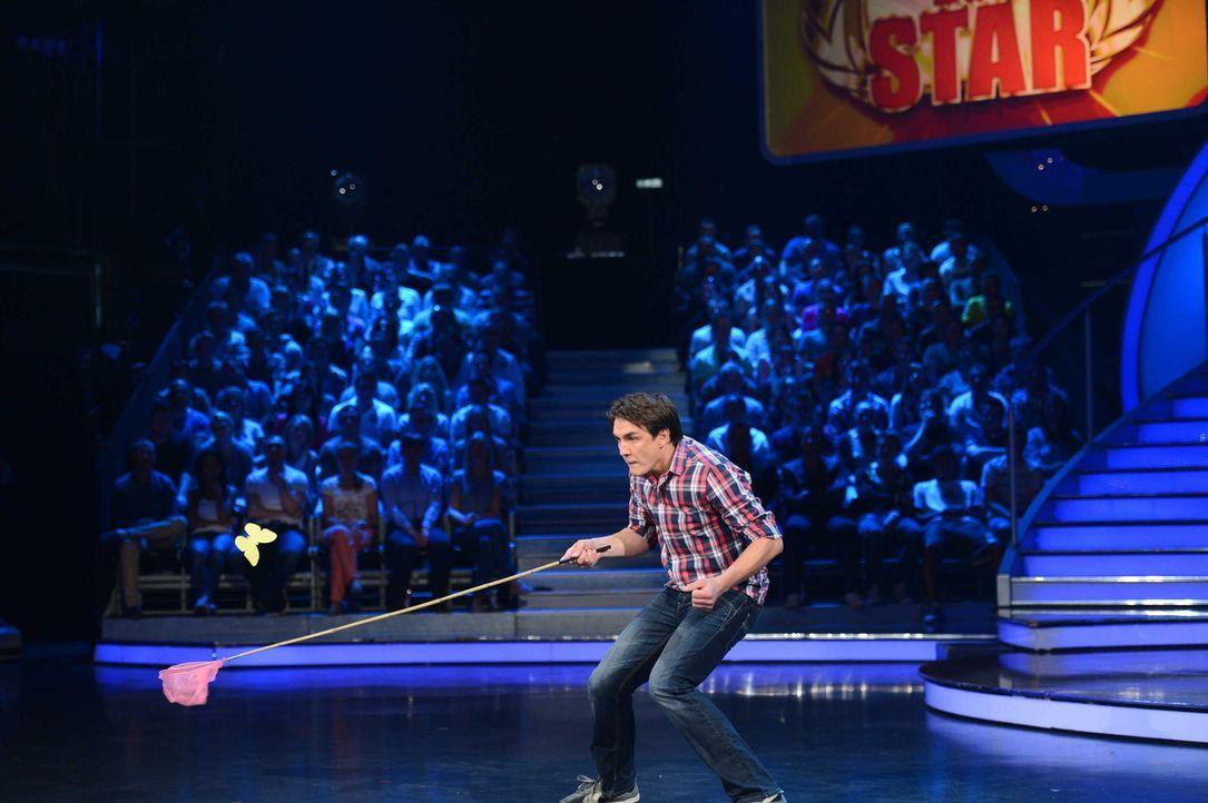 Wagt sich in die Arena: Comedian Matze Knop ... - Bildquelle: Willi Weber ProSieben