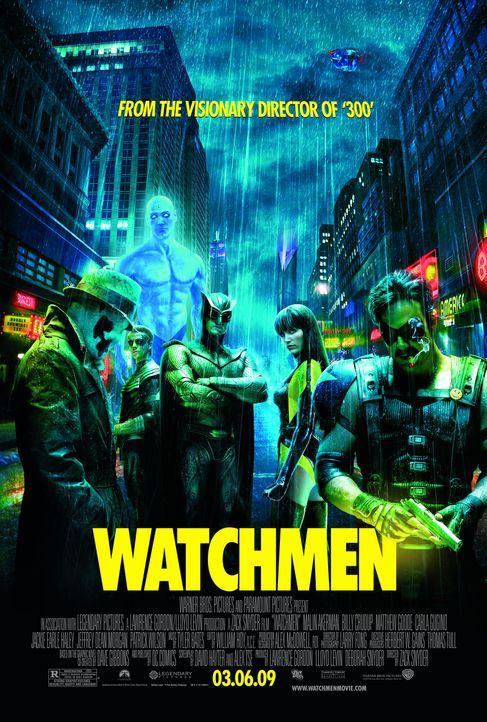 WATCHMEN-DIE WÄCHTER - Plakatmotiv - Bildquelle: Paramount Pictures