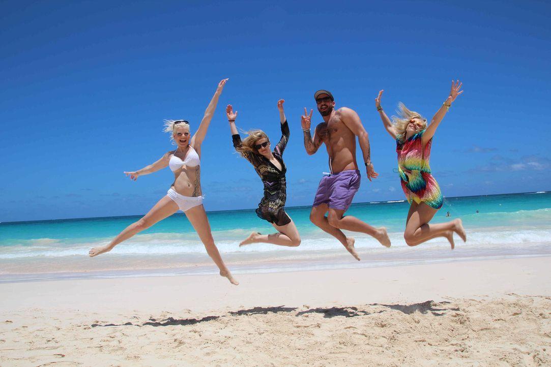 Sommer, Sonne, Strand und Heilfasten: Vier Promis reisen ins karibische Paradies, doch die Sache hat einen Haken. Statt Urlaub erwartet Moderatorin... - Bildquelle: ProSieben