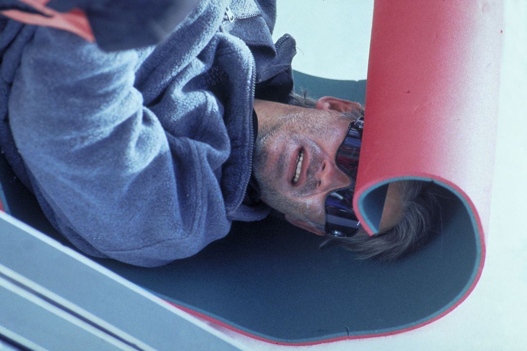 Ein leidenschaftlicher Bergsteiger: Philipp Gabert (Christoph M. Ohrt) ... - Bildquelle: Frank Lemm ProSieben
