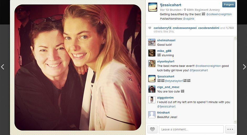 VS-Instagram-11-Instagram - Bildquelle: Instagram/Jessica Hart