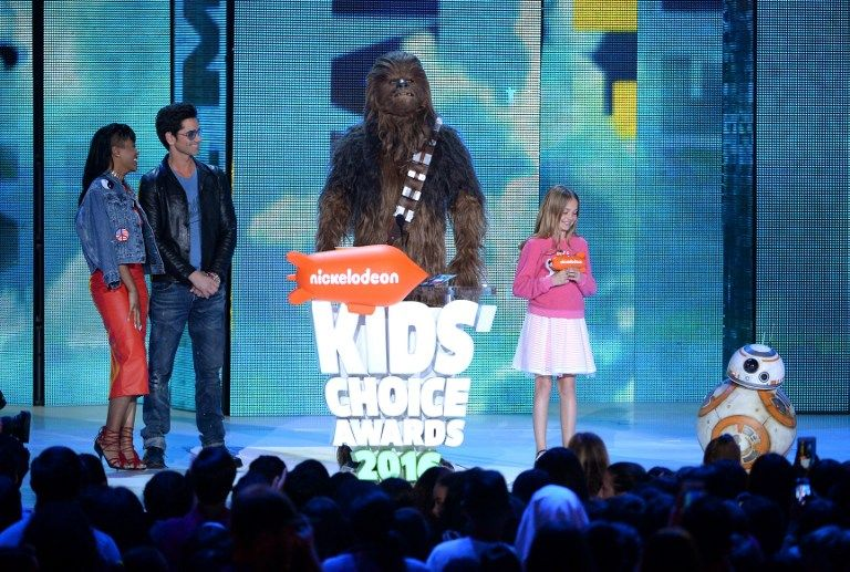 Nickelodeon-17-Chewbacca-getty-AFP - Bildquelle: getty-AFP