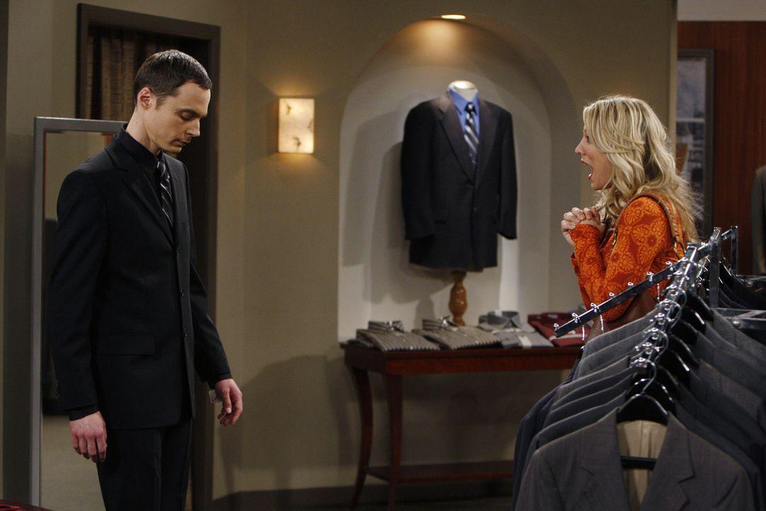 Sheldon (Jim Parsons, l.) hat den Wissenschaftspreis gewonnen. Als er erfährt, dass er auf dem Bankett eine Rede halten soll, bekommt er schrecklic... - Bildquelle: Warner Bros. Television