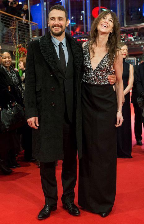 Berlinale-James-Franco-Charlotte-Gainsbourg-15-02-10-dpa - Bildquelle: dpa