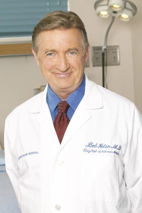 (5. Staffel) - Erwartet jederzeit vollen Einsatz: Dr. Bob Kelso (Ken Jenkins) ... - Bildquelle: Touchstone Television