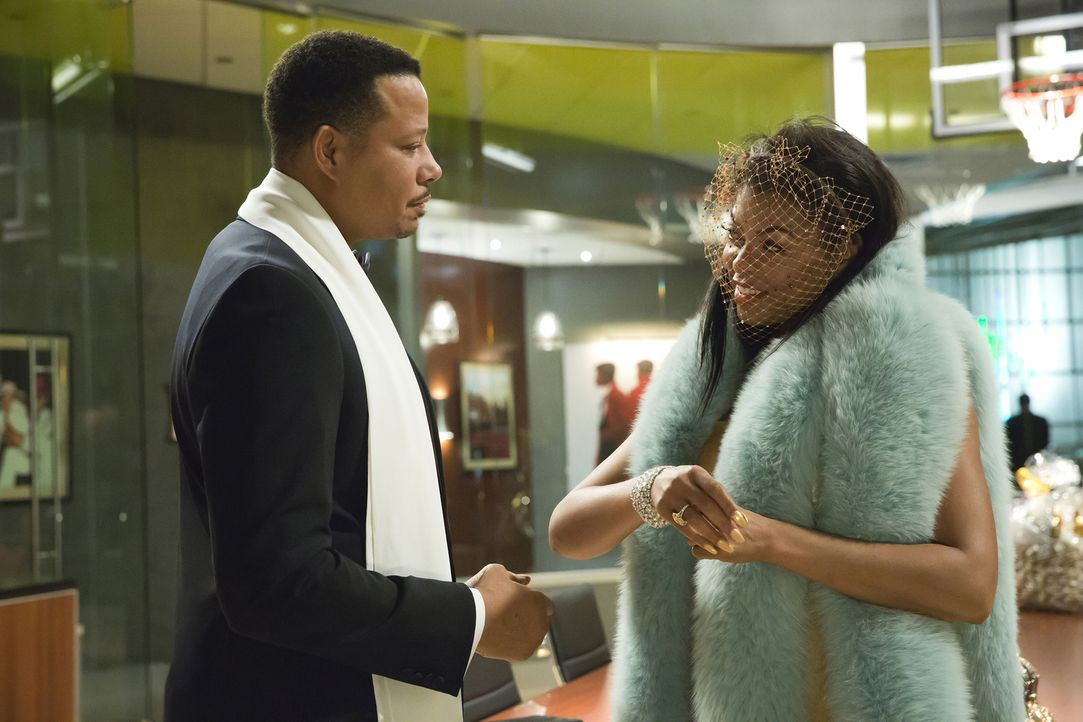 Ahnen noch nicht, dass die ASA-Verleihung völlig anders verläuft als geplant: Cookie (Taraji P. Henson, r.) und Lucious (Terrence Howard, l.) ... - Bildquelle: 2015-2016 Fox and its related entities.  All rights reserved.