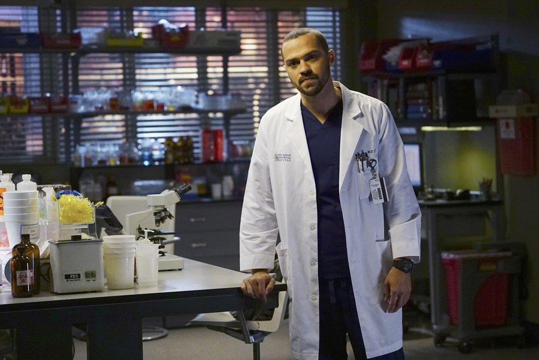 Erfährt von Aprils Schwangerschaft: Jackson (Jesse Williams) ... - Bildquelle: Richard Cartwright ABC Studios