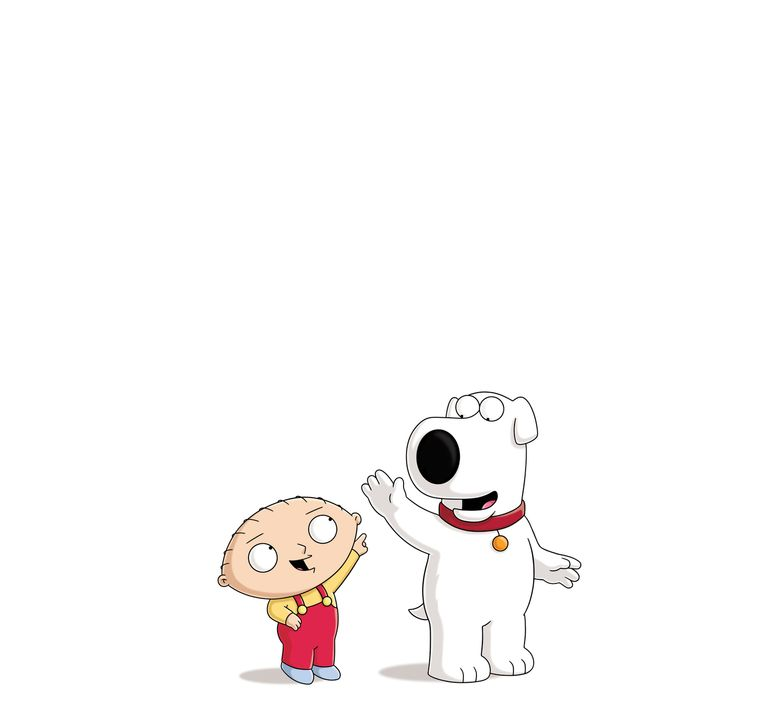 (15. Staffel) - Wahre Freunde kann nichts trennen: Stewie (l.) und Brian (r.) halten immer zusammen ... - Bildquelle: 2015-2016 Fox and its related entities.  All rights reserved.