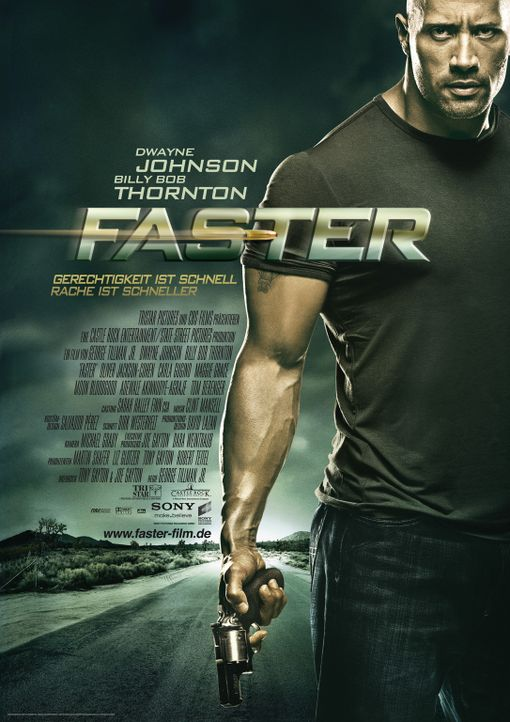 Faster - Plakatmotiv - Bildquelle: 2010 CBS FILMS, INC.  All rights reserved.