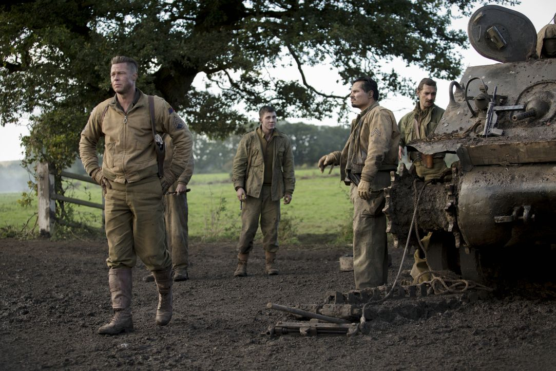 Fury-16-c-2014- Sony- Pictures- Releasing- GmbH - Bildquelle: 2014 Sony Pictures Releasing GmbH