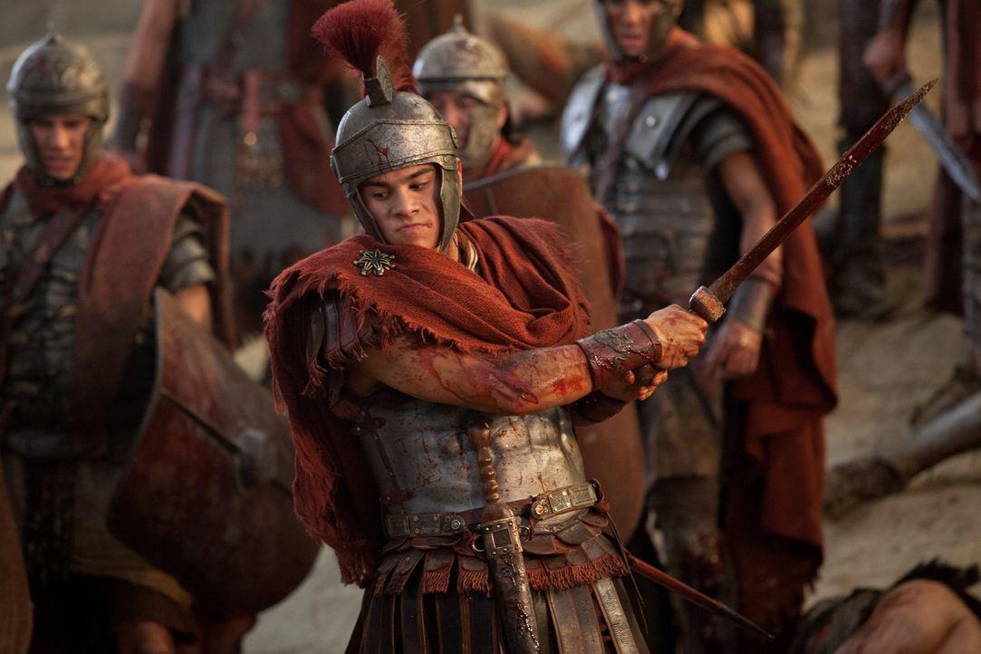 Wird seinem brutalen Vater immer ähnlicher: Tiberius (Christian Antidormi) ... - Bildquelle: 2012 Starz Entertainment, LLC. All rights reserved.