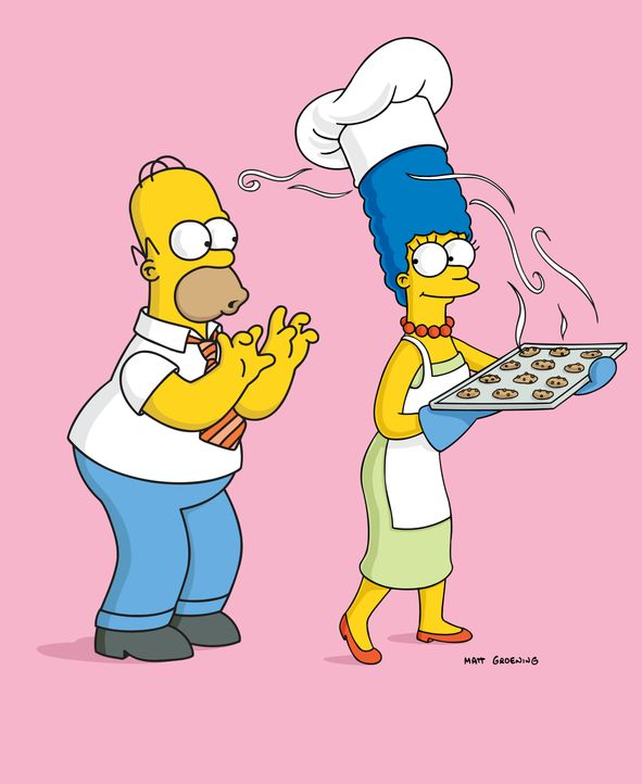 Homer (l.); Marge (r.) - Bildquelle: 2004 Fox and its related entities.  All rights reserved.